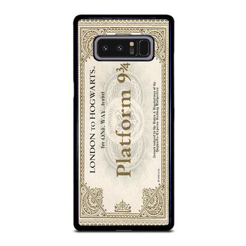 HARRY POTTER TICKET Samsung Galaxy Note 8 Case Cover