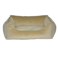 Tan Solid Walled Pet Bed