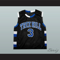 Lucas Scott 3 One Tree Hill Ravens Basketball Jersey  All Sewn  - Any Size NEW