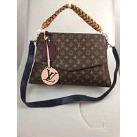 LV Louis Vuitton MONOGRAM CANVAS BEAUBOURG INCLINED SHOULDER BAG