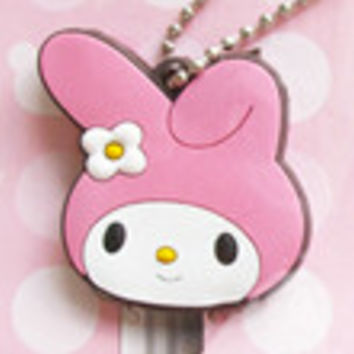 Cartoon Key Cap Cover/ Keychain / Charm Rabbit
