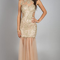 Floor Length Lace Dress