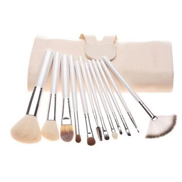 Pearls Luxury Hot Sale 12 Pcs Make Up Brush Set = 4831035652