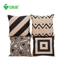 Home Decorative Cushions Geometric Printed Throw Pillows Sofa Pillows Coussin Emoji Seat Cushions Cushion Decor Cojines