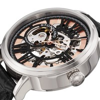 Stuhrling Original Men's 168.33151 Classic Delphi Chariot Automatic Skeleton Black Watch