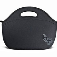 BYO by BUILT NY Rambler Neoprene Lunch Bag, Black