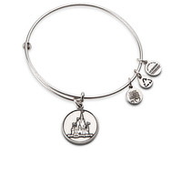 Cinderella Castle Bangle by Alex and Ani - Walt Disney World - Silver