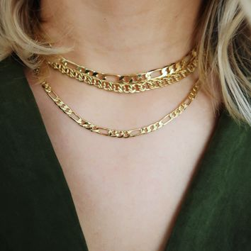 So Bold Necklace: Gold