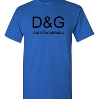 Dolce & Gabbana Royal Blue T-Shirt