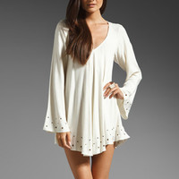 For Love & Lemons Chevy Dress in Ivory from REVOLVEclothing.com