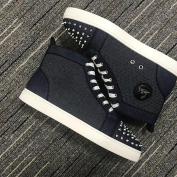 Christian Louboutin Cl Lou Spikes Orlato Sneakers Reference 3