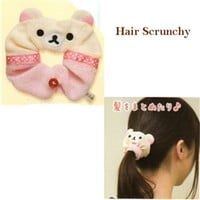 San-X Rilakkuma Relax Bear Hair Scrunchies: Little Bear
