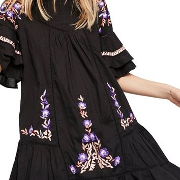 Free People Pavlo Babydoll Dress | Nordstrom
