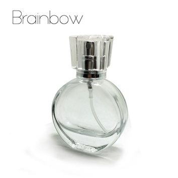 Brainbow 1pc 20ml Glass Empty Perfume Bottles Atomizer Spray Refillable Bottle Spray Scent Case with Travel Size Portable+Funnel