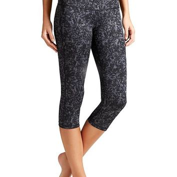 Athleta Womens Woodlands Chaturanga Capri