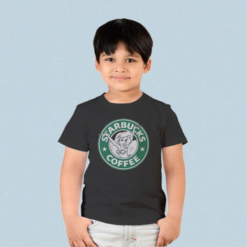 Kids T-shirt - Ariel The Little Mermaid Starbucks Logo
