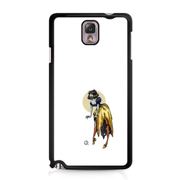 Zombie Princess Abstract Samsung Galaxy Note 3 Case