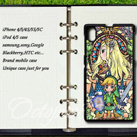 Legend of Zelda Glass,sony Xperia Z case,sony Xperia Z1 case,Google Nexus 4 case,Google Nexus 5 case,samsung galaxy S3 mini case,S4mini case