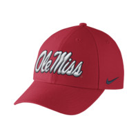 Nike College Dri-FIT Wool Classic (Mississippi) Adjustable Hat