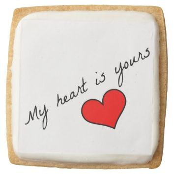 My Heart Is Yours Cookies
