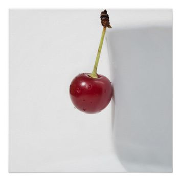 Red Cherry Berry Poster