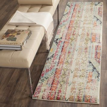 Safavieh Monaco Vintage Bohemian Multicolored Distressed Runner (2' 2 x 8') | Overstock.com Shopping - The Best Deals on Runner Rugs