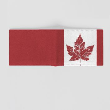 Cool Canada Flag Wallets