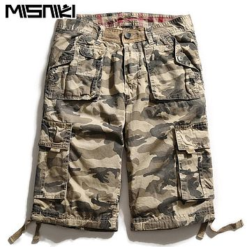 Fashion Camouflage Men Shorts Casual Cotton High Quality Cargo Shorts For Men