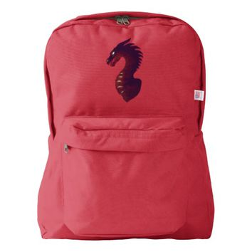 Medieval Dragon American Apparel™ Backpack