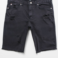 Bullhead Denim Co. Destroyed Skinny Denim Cutoff Shorts at PacSun.com
