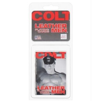 California Exotic Novelties Colt Leather Men Playing Cards