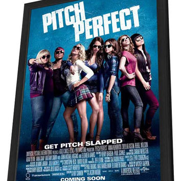 Pitch Perfect 27x40 Framed Movie Poster (2012)