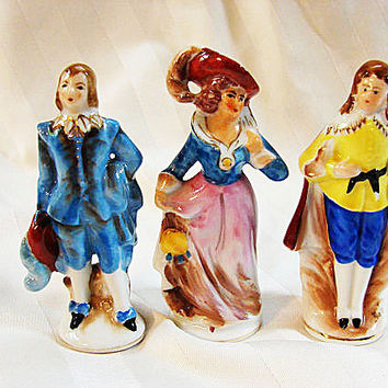 Made in Occupied Japan Figurine LOT 7 figurines