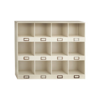 Categorical Wood Wall Shelf