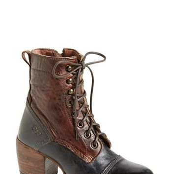 Women's Bed Stu 'Oath' Two-Tone Cap Toe Boot,