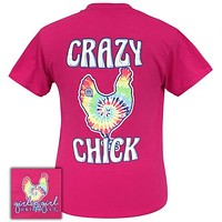 Girlie Girl Originals Preppy Crazy Chick Tie Dye T-Shirt