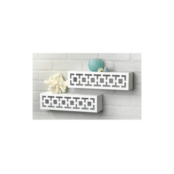 ABC's of Decor Geo Ledge Wall Shelf (Set of 2)