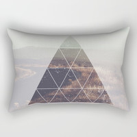 Prism Road Rectangular Pillow by All Is One