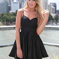 LADY LUCK DRESS , DRESSES, TOPS, BOTTOMS, JACKETS & JUMPERS, ACCESSORIES, 50% OFF SALE, PRE ORDER, NEW ARRIVALS, PLAYSUIT, COLOUR, GIFT VOUCHER,,CUT OUT,BACKLESS,SLEEVELESS,Black Australia, Queensland, Brisbane