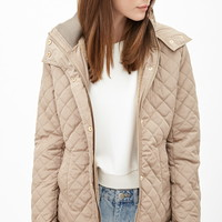 Hooded Quilted Parka | Forever 21 - 2000122909