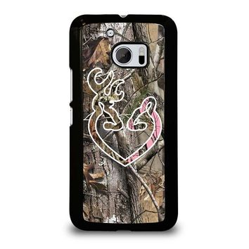 CAMO BROWNING LOVE-PHONE 5  HTC One M10 Case Cover