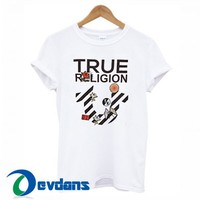 True Religion Stripe Logo T Shirt Women And Men Size S To 3XL