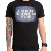 Life One TV Marathon At A Time T-Shirt