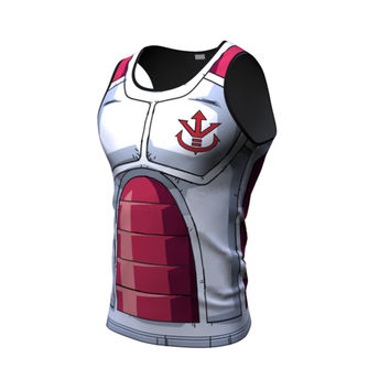 King vegeta armor tank top