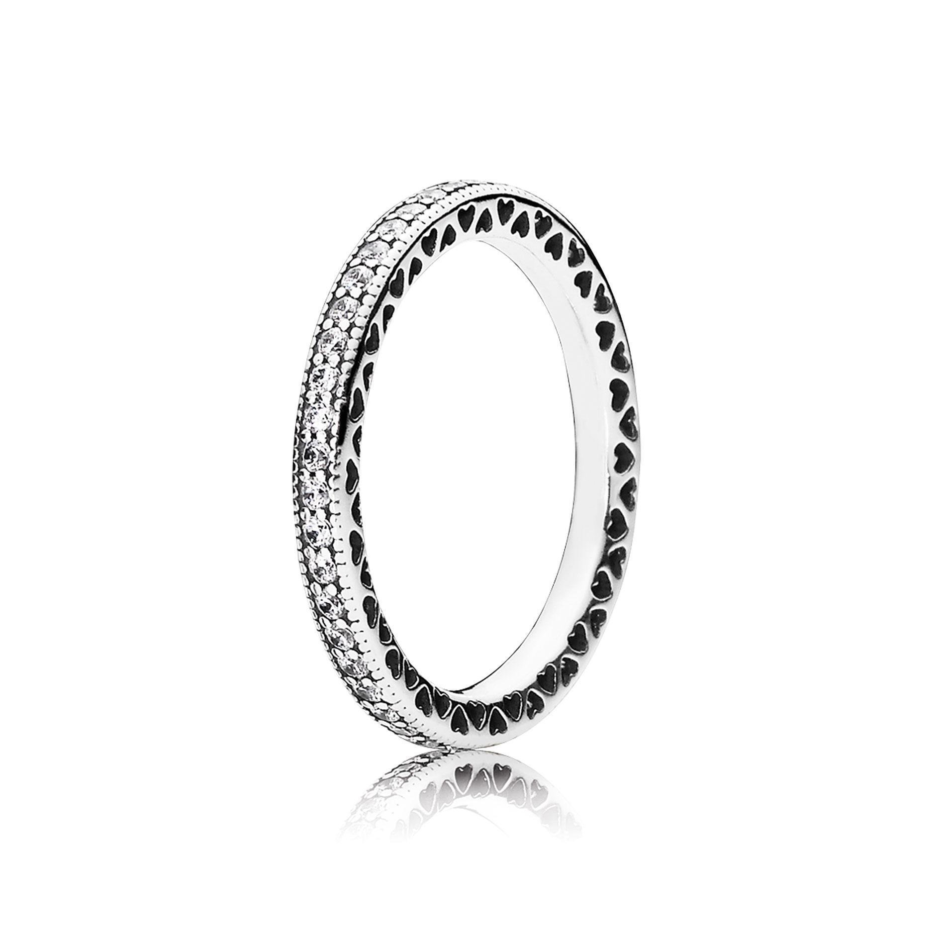 Pandora Hearts Of Pandora Ring Clear Cz From Reeds Jewelers