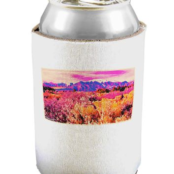 Colorful Colorado Mountains Can / Bottle Insulator Coolers by TooLoud