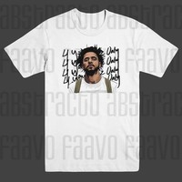 J Cole Forest Hills 4 Your Eyez Only Hip Hop Rap T Shirt