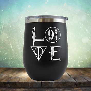 Harry Potter Love - Wine Tumbler