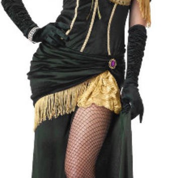 Saloon Madame Adult Costume | (Small)