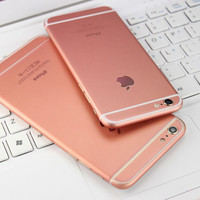 """1 PC Fashion Rose Gold Full Body Back Screen Protector Sticker Decal Cover for iPhone 6 6S 4.7"""" iPhone 6 Plus 6S Plus 5.5"""""""